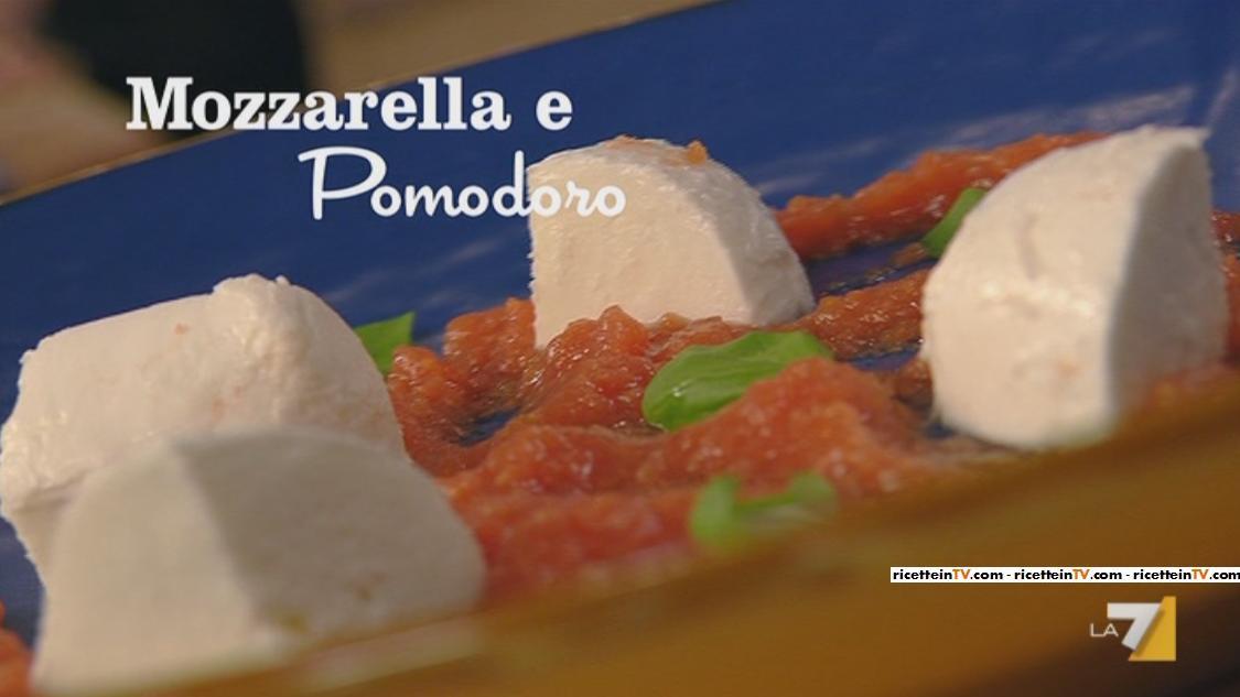 I menu di benedetta la ricetta di mozzarella e pomodoro for Mozzarella in carrozza parodi
