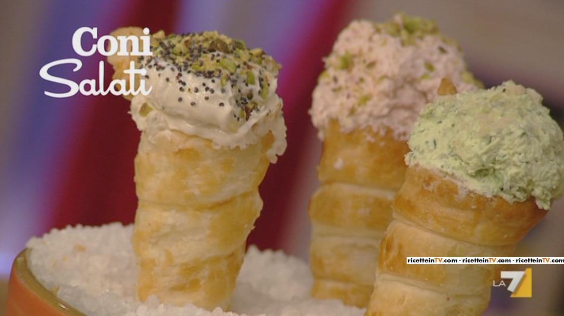 I Menu Di Benedetta La Ricetta Dei Coni Salati Ricette In Tv