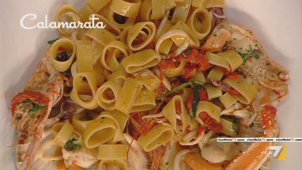I menu di benedetta la ricetta della calamarata for Le ricette di benedetta parodi