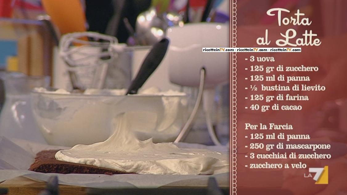 Ricerta Torta Al Latte Di Benedetta Parodi Del 11042013