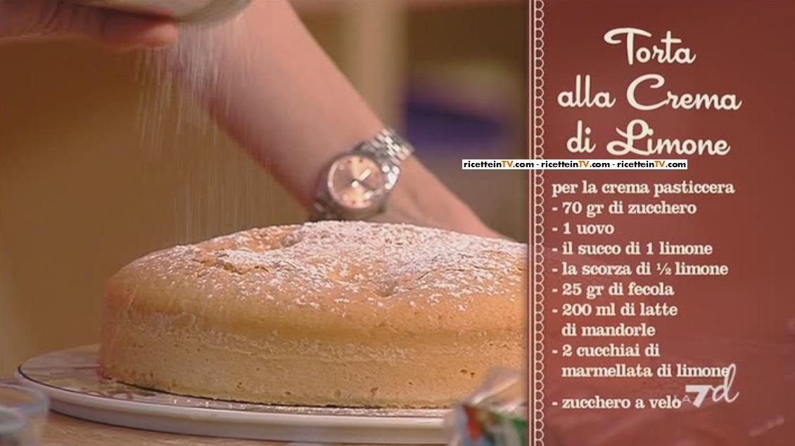 I Menu Di Benedetta La Ricetta Della Torta Alla Crema Di Limone