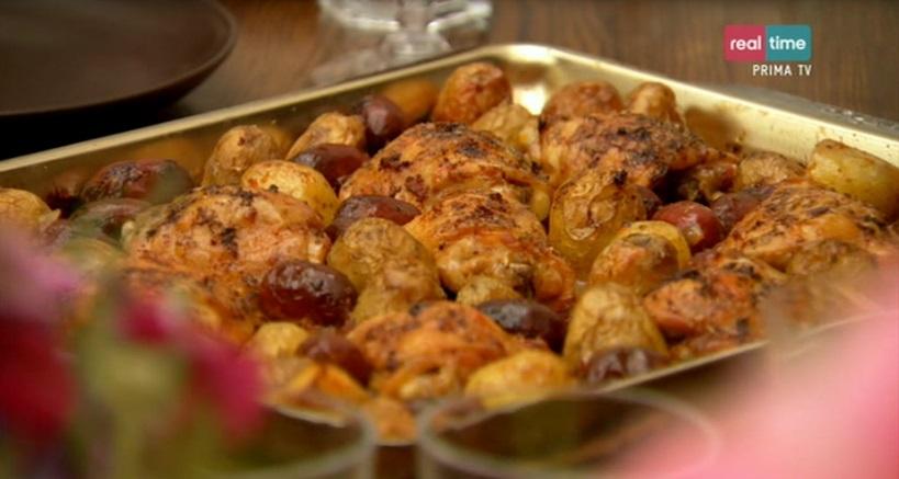cucina con nigella   ricetta pollo spagnolo con chorizo e patate - Ricette Cucina Spagnola