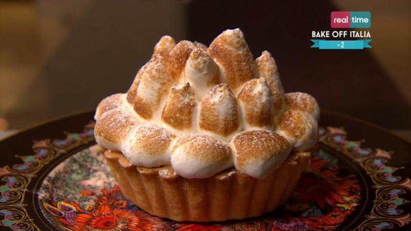 torta alla crema di limone e meringa