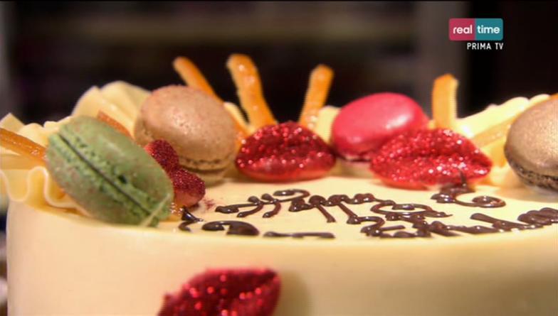 torta al cioccolato e all'arancia