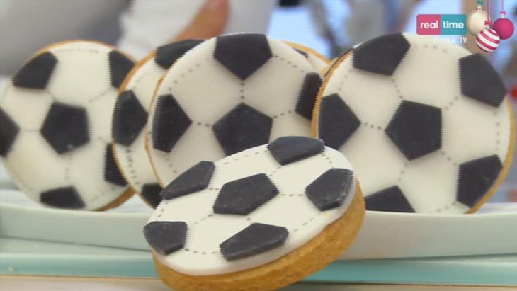 biscotti da calcio