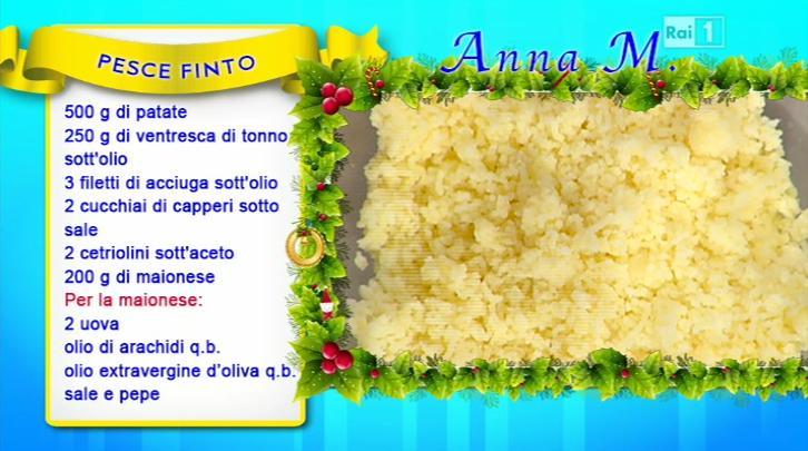 La Prova Del Cuoco Ricetta Pesce Finto Di Anna Moroni