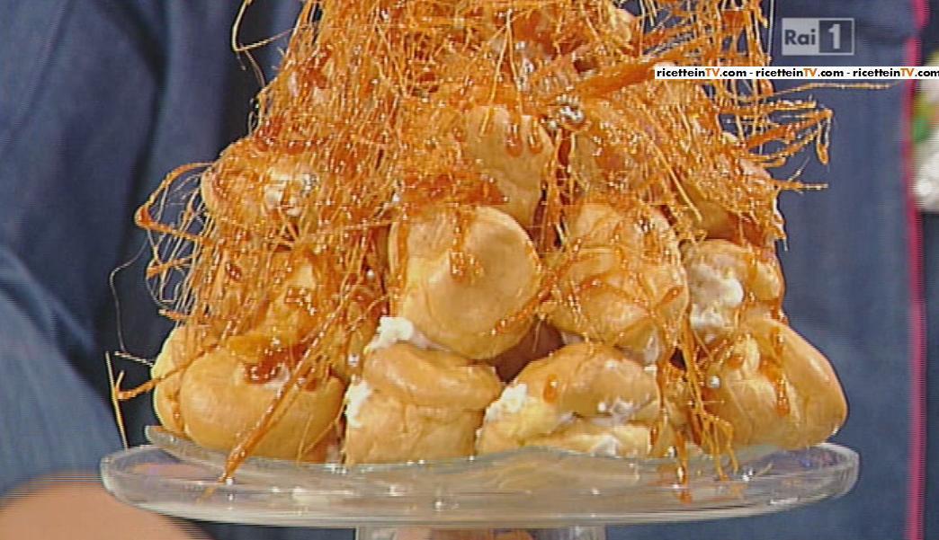 La prova del cuoco ricetta bign chantilly di ambra romani for Dolci tradizionali romani