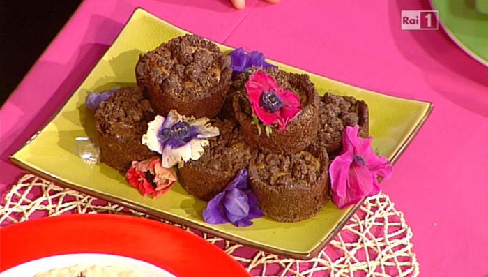 La prova del cuoco ricetta crumble al cacao con cuore di for Dolci romani