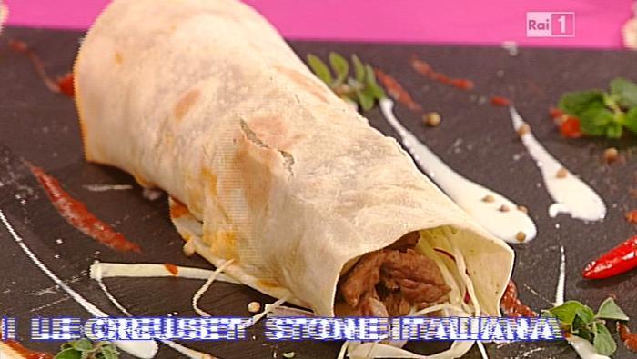 Ricetta Kebab La Prova Del Cuoco.La Prova Del Cuoco Ricetta Durum Kebab Di Andrea Mainardi