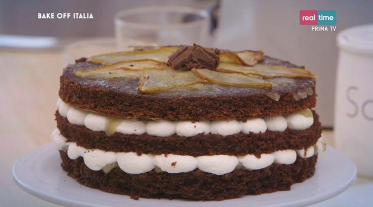 Bake Off Italia 2 Ricetta Torta Pere Ricotta E Cioccolato Roberta