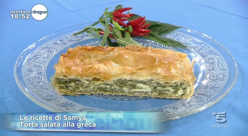 Torta salata alla greca