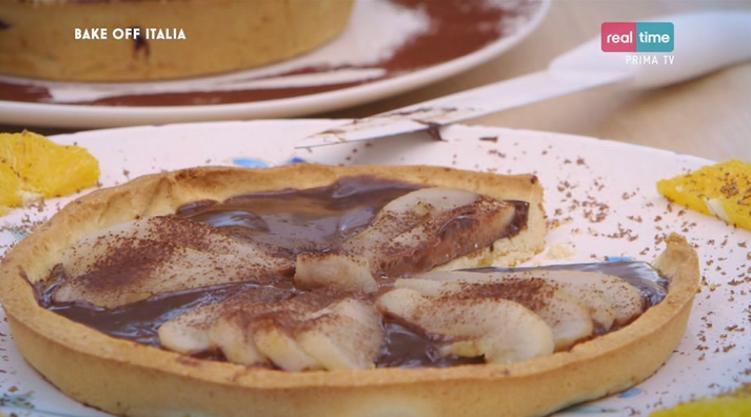 Bake Off Italia 2 Ricetta Crostata Di Pere E Cioccolato Claudio