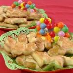 biscotti al profumo di vaniglia