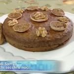 torta ai fichi secchi e noci