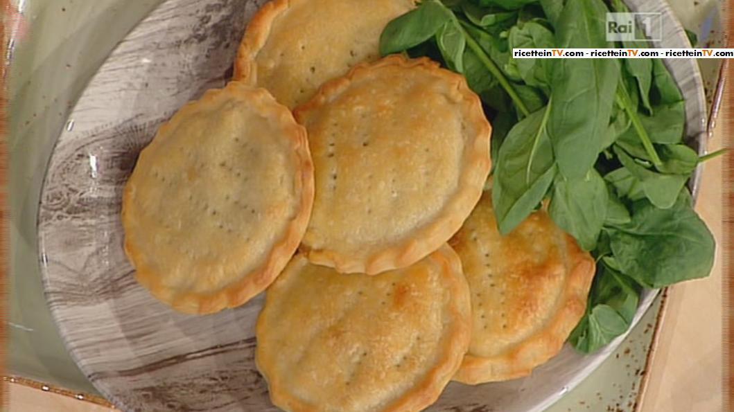 La Prova Del Cuoco Ricetta Tortini Di Tacchino Con Funghi E