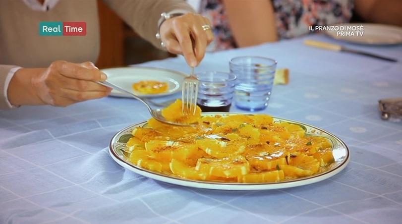 arance con cannella