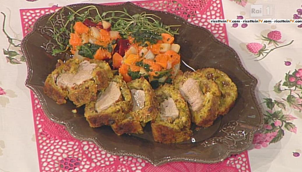 La Prova Del Cuoco Ricetta Filetto Di Maiale In Crosta Luisanna