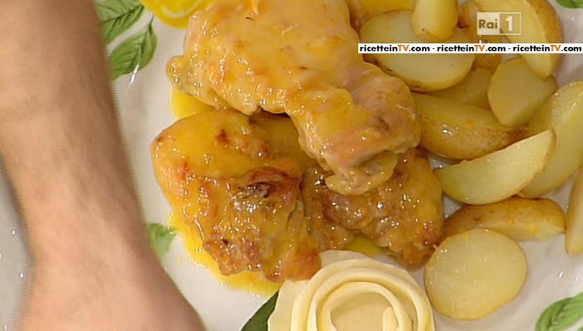 sovraccosce di pollo al mandarino con patate