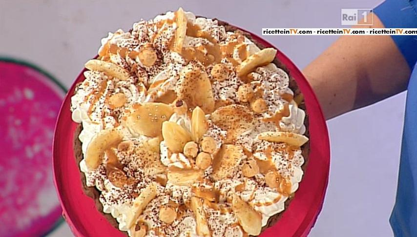 Dolci dopo il tigg ricetta torta banoffee di ambra romani for Dolci tradizionali romani