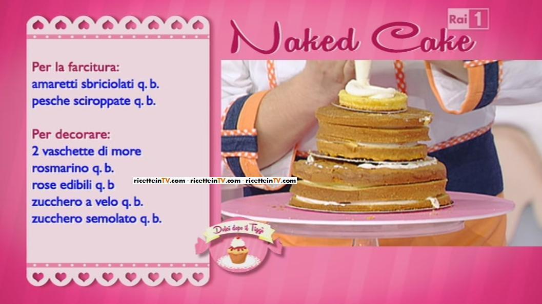Dolci dopo il tigg ricetta naked cake di ambra romani for Dolci romani