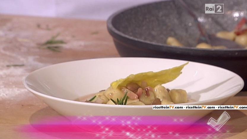 gnocchi pasta e fagioli