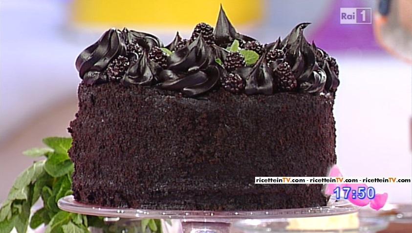 Dolci dopo il tigg ricetta torta brooklyn blackout di for Dolci romani