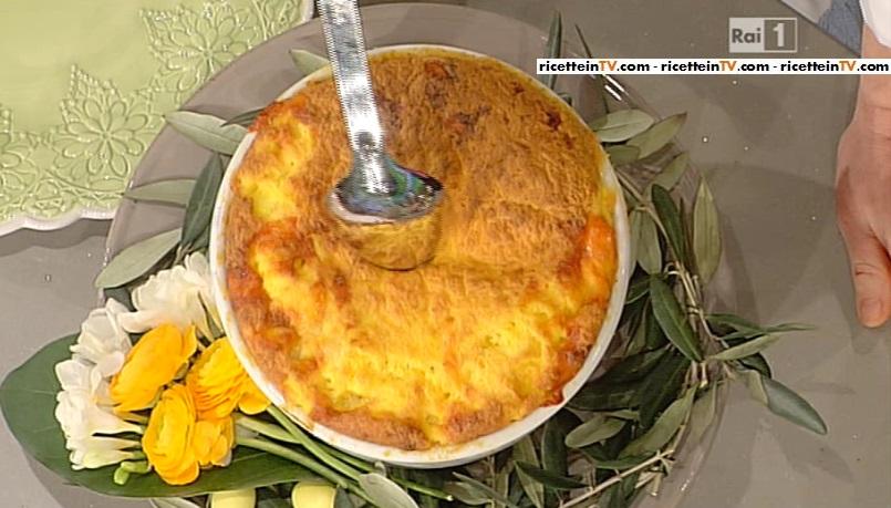 gateau soufflè di formaggio e uova