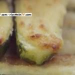 zucchine ripiene con stracchino e parmigiano