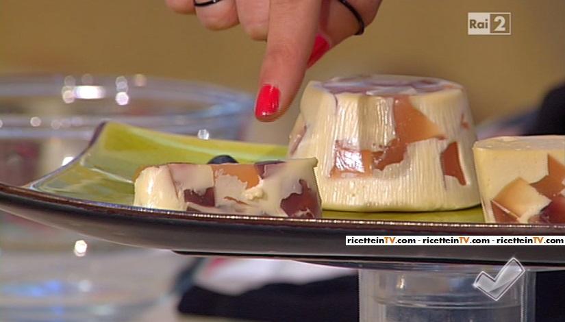 macedonia con gelato al fiordilatte