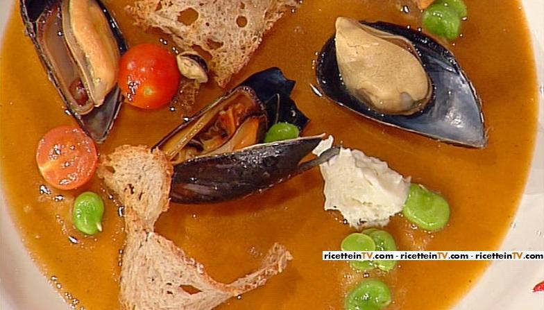 pane alle alghe cozze e pecorino