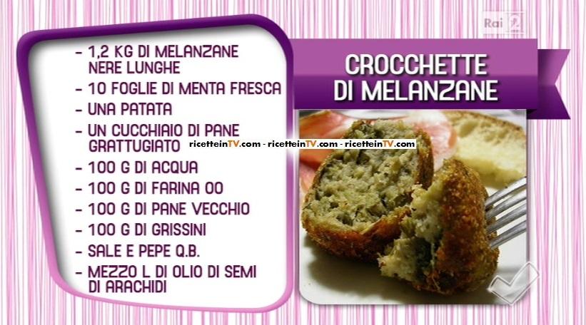 crocchette di melanzane