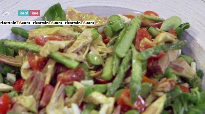 insalata di asparagi e carciofi
