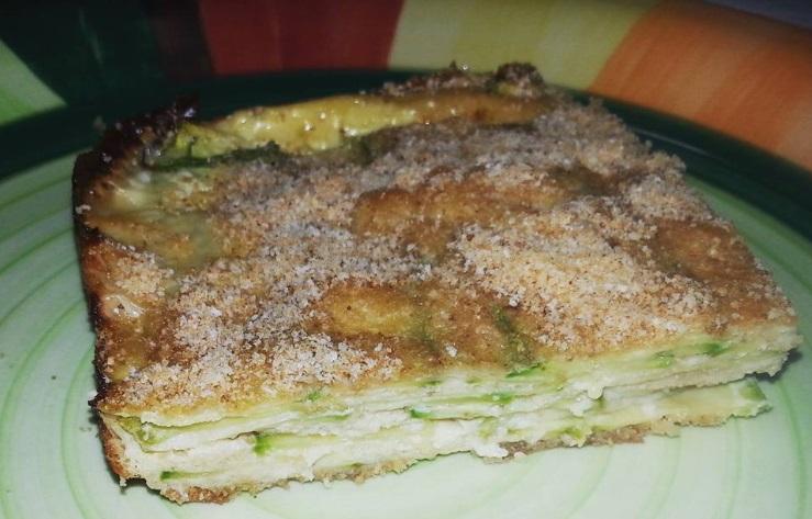 Ricette cotto e mangiato parmigiana bianca di zucchine for Ricette di cotto e mangiato