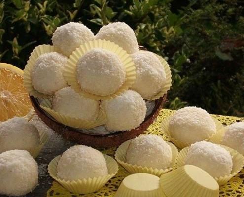 tartufi limone e cocco