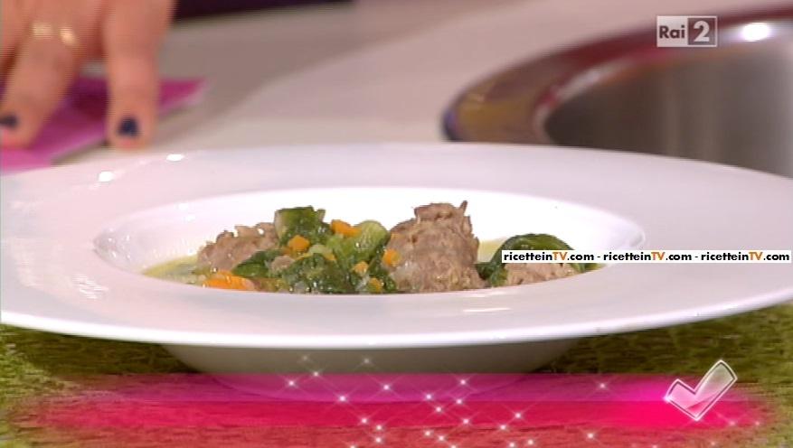 zuppa di salsiccia e scarola