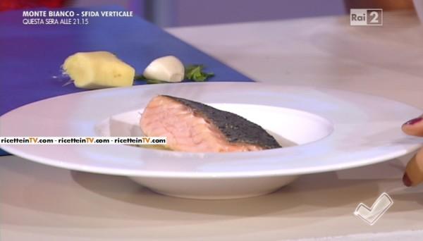 salmone dorato
