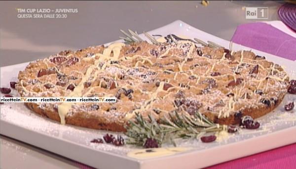 La prova del cuoco ricetta sbrisolona al cioccolato for Dolci romani