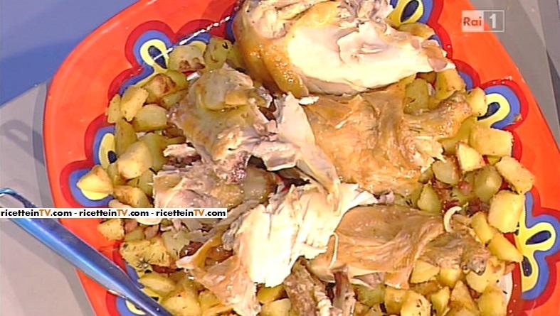 pollo al limone con le patate