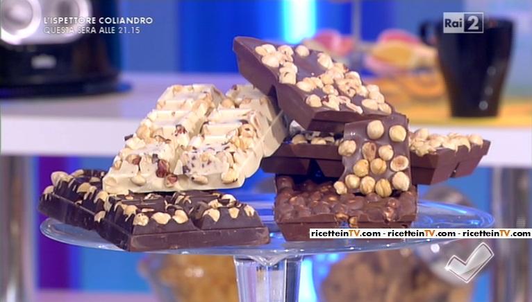 tavolette di cioccolato ripiene