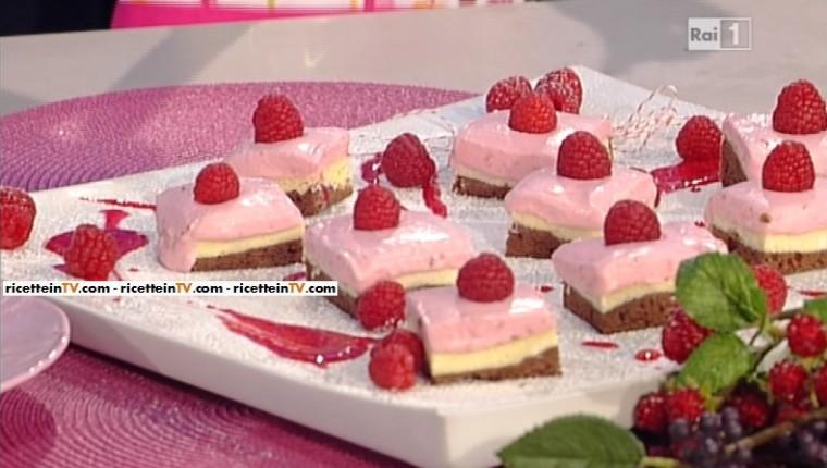 La prova del cuoco ricetta brownies cheesecake ai for Dolci romani