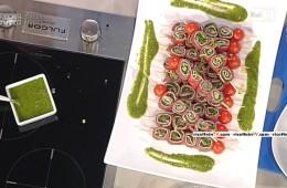 carpaccio tricolore di Fabrizio Nonis