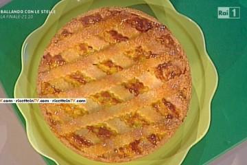 pastiera di riso giallo ai quattro formaggi di Luca Montersino