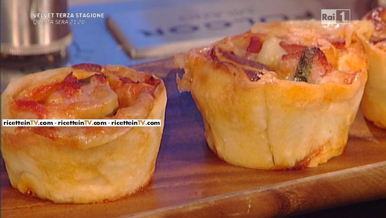 La prova del cuoco ricetta muffin di pizza di anna moroni for Ricette della prova del cuoco