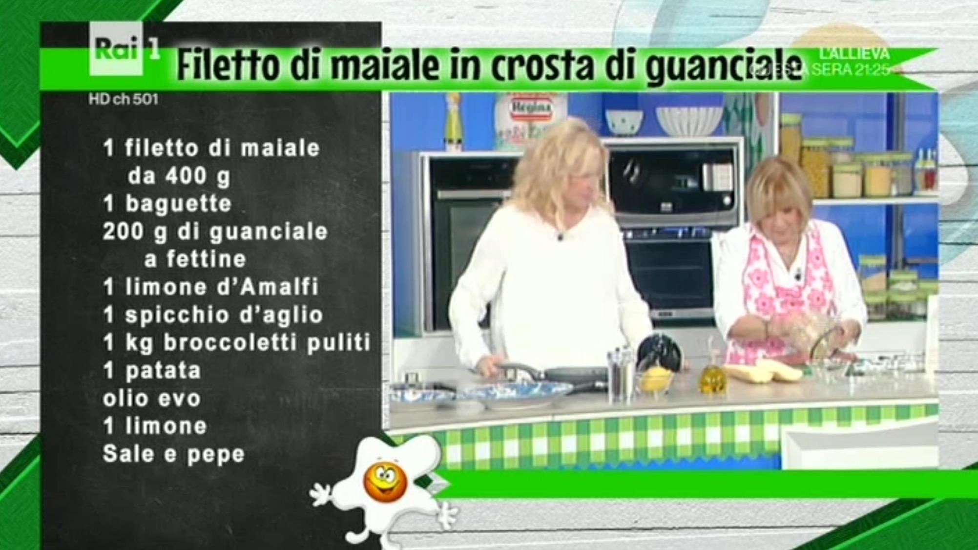 La Prova Del Cuoco Ricetta Filetto Di Maiale In Crosta Di