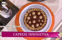 torta caprese innovativa di Roberto Rinaldini