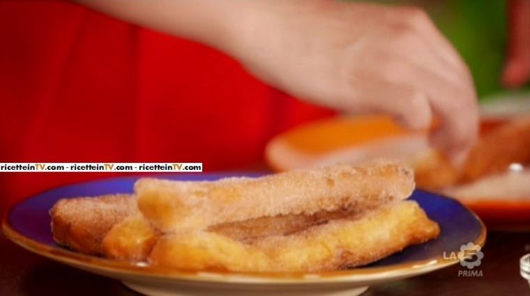 A Colazione La 5 Ricetta Churros Di Samya