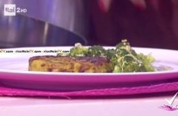hamburger di borlotti con insalata di broccoli