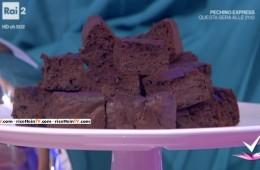 brownies di azuki