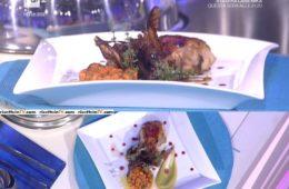 pollo con papaya e radicchio di Victoire Bouna Gouloubi