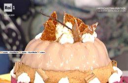 torta morbida con panna cotta alla nocciola e croccantino di Ambra Romani